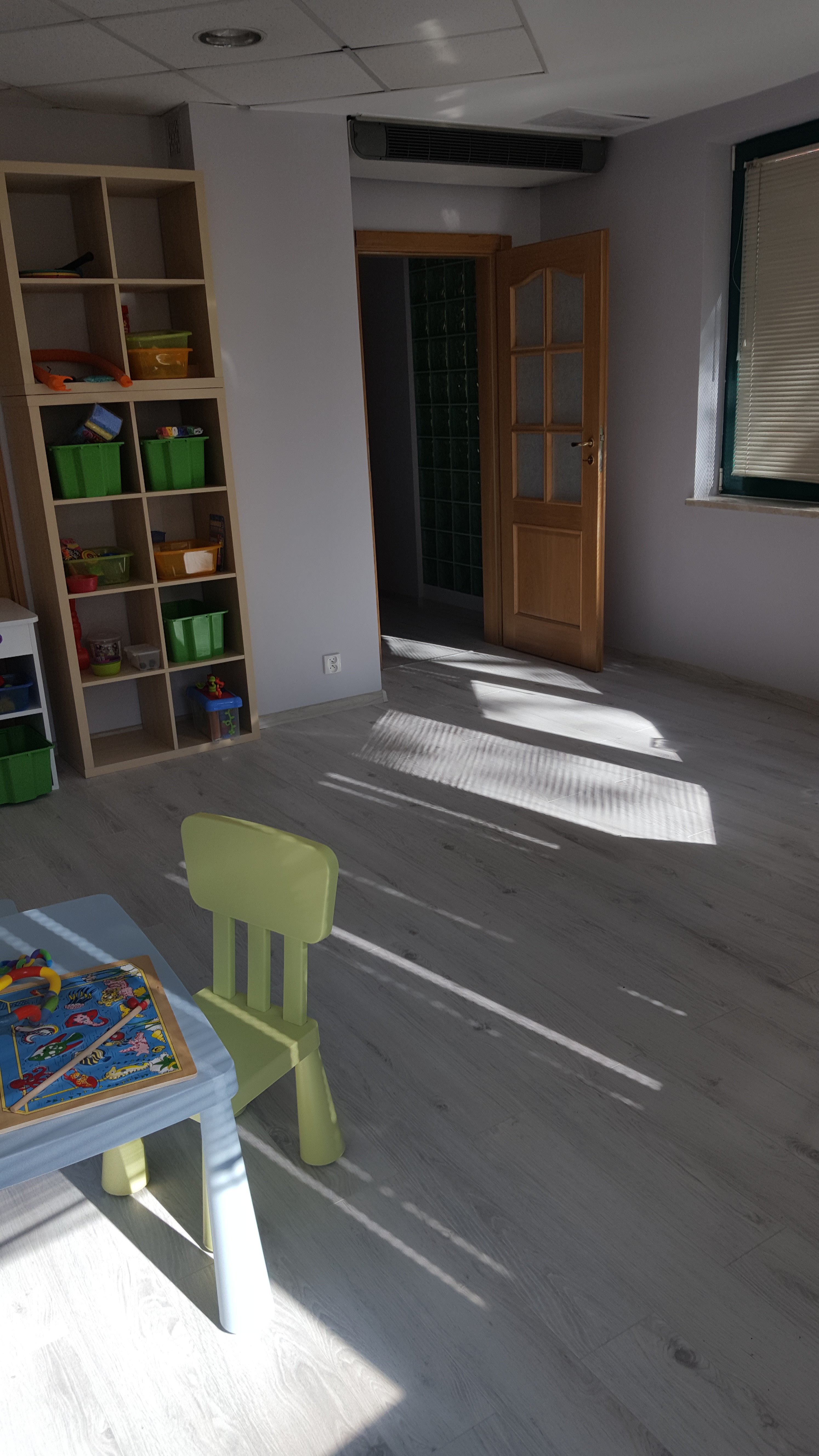 Sala do terapii ręki w centrum przy ul. Śródziemnomorska 11