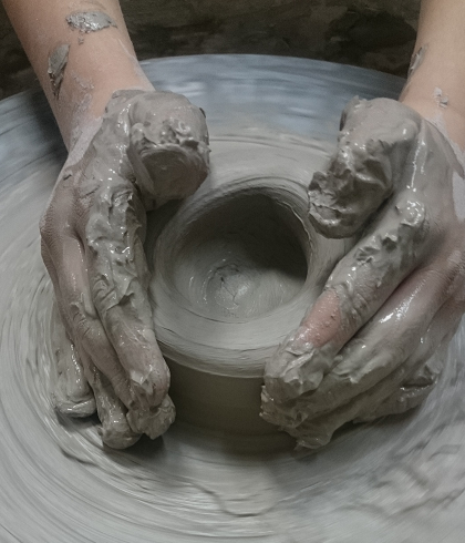 terpia ręki ceramika
