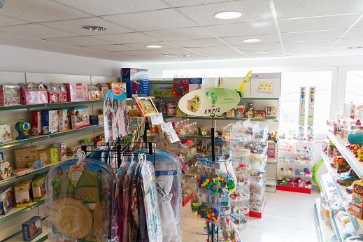 stacjonarny sklep z zabawkami